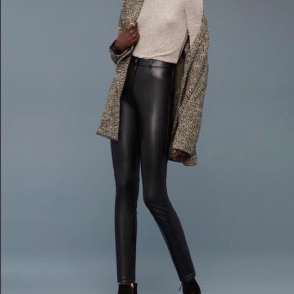 3827e744cf752 Aritzia Pants | Wilfred Free Faux Leather Adrienne Pant | Poshmark